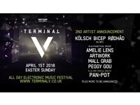 1 Terminal V 1st release ticket for sale !! 2018