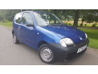 Fiat Seicento 1.1 S 3dr 1 OWNER &ONLY 26000 MILES £995 OR NEAREST SENSIBLE OFFER