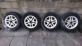 BMW alloy wheels..