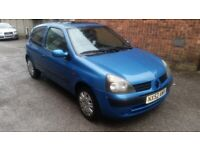 Renault Clio 1.2 petrol with long mot till February 2022 £500 no offers