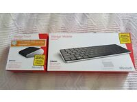 Microsoft Bluetooth Wedge Mouse & Keyboard, boxed
