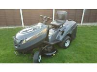 MOUNTFIELD T35M RIDE ON MOWER WITH COLLECTOR