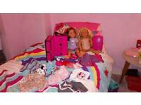 Our generation doll and design a friend doll bundle