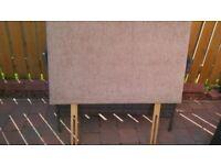 Single bed headboard Beige/cream New