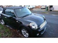 MINI COOPER CONVERTIBLE 1.6 ONLY 37295 MILES LADY OWNER MUST SEE POSS P/X
