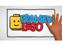 bespoke framed lego