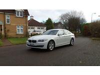 2011 11 BMW 5 SERIES 2.0 520D SE 4d AUTO*WHITE**PART EX WELCOME*FINANCE