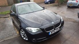 P/X Welcome BMW 5 Series 2.0d 2010 Automatic Black w/ Paddle shift & Sports modes