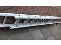 Ladders. 20 ft/6 metres