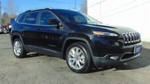 2017 Jeep Cherokee LIMITED - SAFETYTEC-TECHNOLOGY - LUXURY GROUP