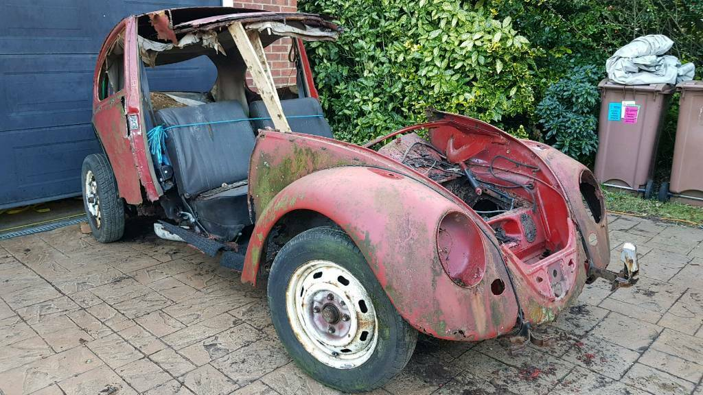 Vw Beetle Chis 1967 With V5 Kit Car Beach Buggy