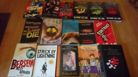 Book joblot. All fiction for a range of ages and genres incl childrens books, ya, thriller