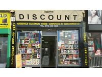 Discount Shop/General store for sale £6500 Located 211 Harehills Lane LS8 3QH Leeds