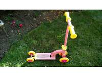 Pink Scooter.