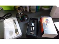 E cigarette with baby beast tank