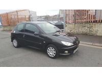 2007 Peugeot 206 black