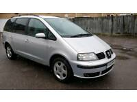 2002 02 Seat Alhambra 1.9 TDi 162k 6 speed manual 12 months mot HPI CLEAR excellent runner!