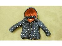 Girls Bluezoo coat, age 3-4