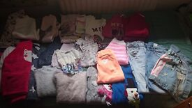 Bundle of clothes girl 7-8