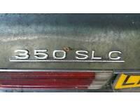 Breaking 350 slc Mercedes-Benz