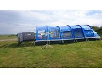 Oasis 6 tent, porch carpet and footprint