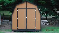 FOR SALE - CUSTOM BUILT & NEW STOCK STORAGE SHEDS!!