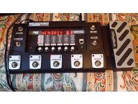 Digitech RP500, Yamaha Amp