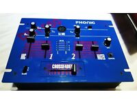 Phonic DM1050 Mixer , 2 channel with Headphones out , Reduced to £20 ono.