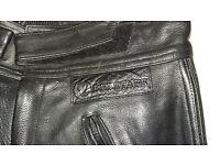 Belstaff Leather Trousers