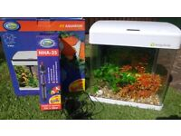 19L fish tank perfect for little first time fish keepers