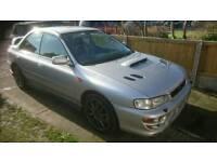 1999 Subaru Impreza turbo classic face-lift