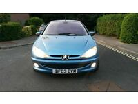 Peugeot 206 2.0 HDi LX Alloys S/S Exhaust Upgrade Lights GT SPORT GTI TDI 306 Citroen Renault CHEAP