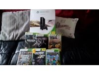 X Box 360 with games and accessories