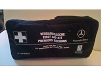 GENUINE AND COMPLETE MERCEDES BENZ FIRST AID KIT,A140,160,B CLASS,C CLASS,MERC