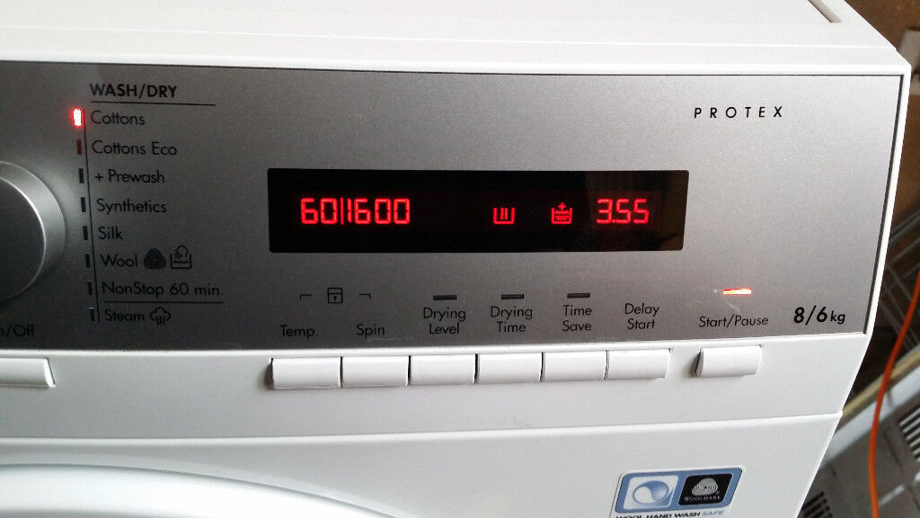 All in 1: AEG L76685NWD Washer(8kg)/Dryer(6kg), 1600rpm For
