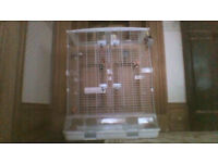 Large Hagen Vision bird cage with accessories all in excellent condition