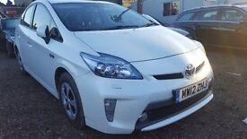 Toyota Prius Hybrid 1.8 WHITE UK Model Finance Available