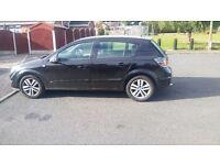 Black Vauxhall Astra 1.6 SXI - Petrol 2008 ----------- £1400 Quick sale)