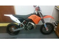 KTM SX65 sx 65 junior kids motocross mx bike