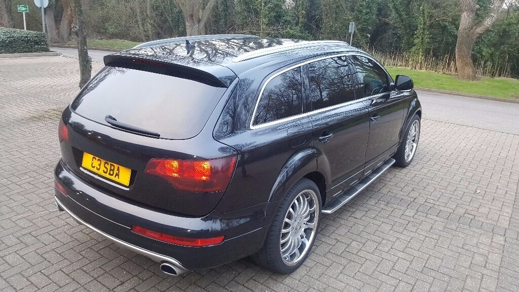 audi q7 limited edition 3 0 tdi tiptronic 2007 le very low miles 64k panoramic sunroof 7 seater. Black Bedroom Furniture Sets. Home Design Ideas