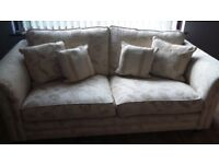 Sofa,chair and footstool for sale (Alstons Grafton)