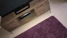 TV cabinet and two matching stands £120