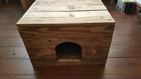 Rustic Handmade Pet Bed / Box made from Reclaimed Wood