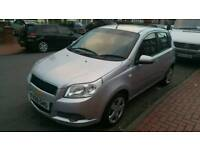 Chevrolet aveo 1.2 59 plate small car (not vauxhall vw ford)