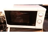 Microwave cookworks white used works perfectly