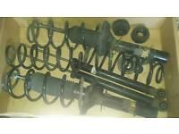 Seat leon cupra r original seat shocks and spring kit