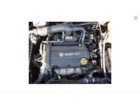 Vauxhall Astra , Mervia , corsa twinport z16xep 72,000 miles