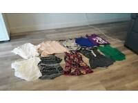 Bundle of girls cloths and trainers