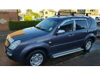 Ssangyong Rexton 2006 sx270 2.7 sx7 diesel automatic jeep 7 seater, discovery, 4 x 4.
