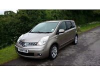 2008 Nissan Note 1.6 16v Tekna 5dr Auto, 2 Owners With Bluetooth Hands Free and Automatic Air Con
